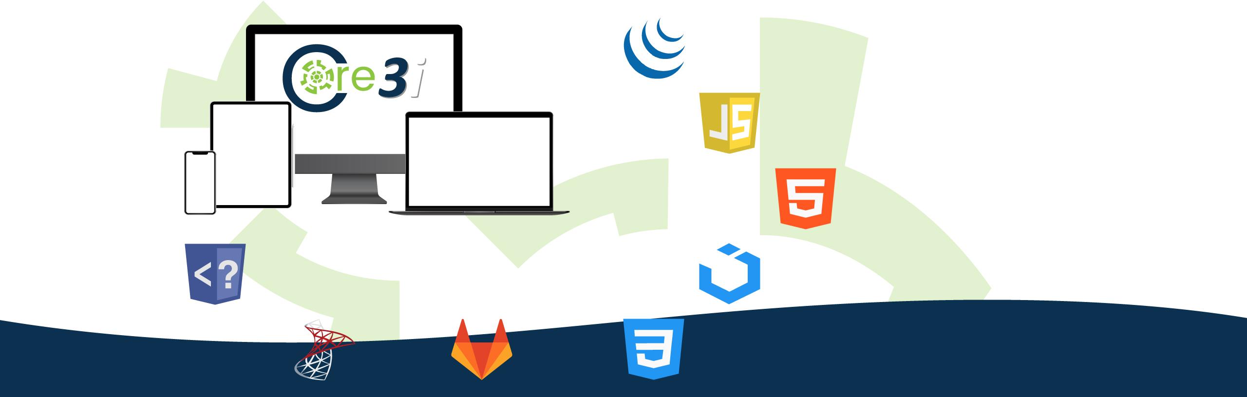 Core3i | Núcleo de Desarrollos para Aplicaciones WEB Progresivas